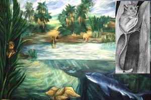 Eocene Texas Coastal Habitat