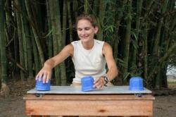 Esther Herrmann Demonstrates Test