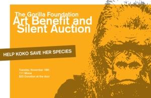 Gorilla Foundation Art Benefit Silent Auction
